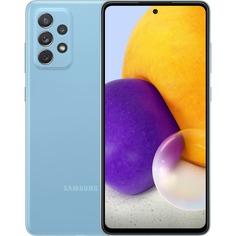 Смартфон Samsung Galaxy A72 128 ГБ голубой