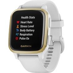 Смарт-часы Garmin Venu Sq NFC White/Light Gold (010-02427-11)