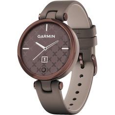 Смарт-часы Garmin Lily Emea DarkBronze Paloma Leather (010-02384-B0)