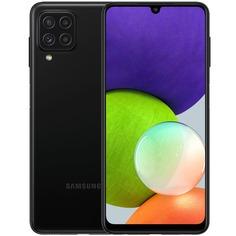 Смартфон Samsung Galaxy A22 128 ГБ чёрный