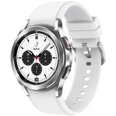 Смарт-часы Samsung Galaxy Watch4 Classic 42 мм (SM-R880NZSACIS) Серебристый