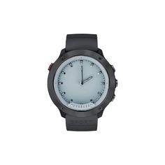 Смарт-часы GEOZON G-SM03BLK Hybrid Black Black/gray strap