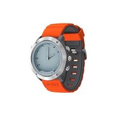 Смарт-часы GEOZON G-SM03SVR Hybrid Silver Black/orange strap