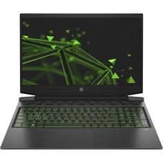 Ноутбук HP Pavilion Gaming 16-a0050ur Black (2Z7J7EA)