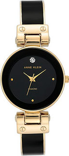 fashion наручные женские часы Anne Klein 3832BKGB. Коллекция Diamond