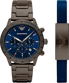 fashion наручные мужские часы Emporio armani AR80045. Коллекция Mario