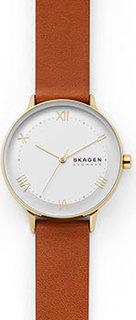Швейцарские наручные женские часы Skagen SKW2877. Коллекция Aaren Naturals