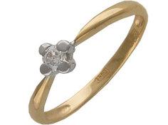 Золотое кольцо 32K610500 Ювелирное изделие