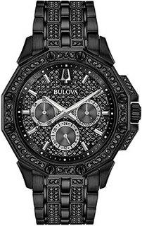 Японские наручные мужские часы Bulova 98C134. Коллекция Octava