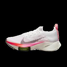 Женские кроссовки для бега по шоссе Nike Air Zoom Tempo NEXT% Flyknit - Белый