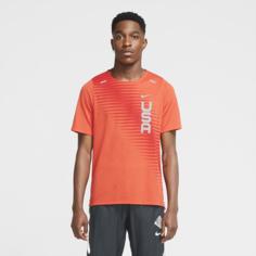 Мужская беговая футболка с коротким рукавом Nike Dri-FIT Team USA Rise 365 - Красный