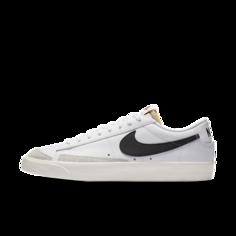 Мужские кроссовки Nike Blazer Low 77 Vintage - Белый