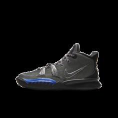 Баскетбольные кроссовки для школьников Kyrie 7 - Черный Nike