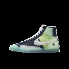 Кроссовки для школьников Nike Blazer Mid 77 - Синий