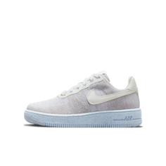 Кроссовки для школьников Nike Air Force 1 Crater Flyknit - Белый