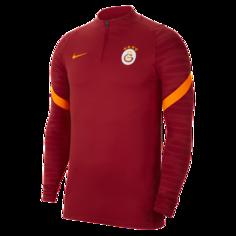 Мужская футболка для футбольного тренинга Galatasaray Strike - Красный Nike