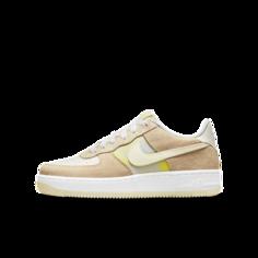 Кроссовки для школьников Nike Air Force 1 Low - Желтый