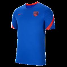 Мужская игровая футболка с коротким рукавом Atlético Madrid Strike - Синий Nike
