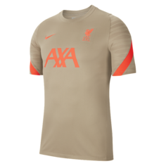 Мужская игровая футболка с коротким рукавом Liverpool FC Strike - Зеленый Nike