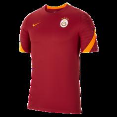 Мужская игровая футболка с коротким рукавом Nike Dri-FIT Galatasaray Strike - Красный