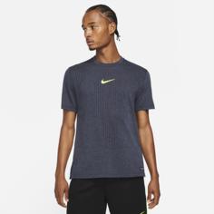 Мужская футболка с коротким рукавом Nike Pro Dri-FIT ADV - Синий