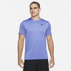 Мужская футболка с коротким рукавом Nike Pro Dri-FIT - Синий