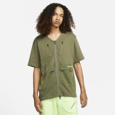 Мужская футболка с коротким рукавом Jordan 23 Engineered - Коричневый Nike