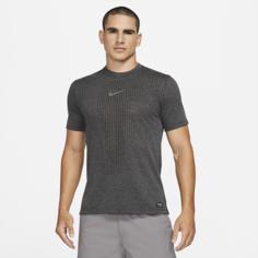 Мужская футболка с коротким рукавом Nike Pro Dri-FIT ADV - Черный