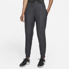 Женские джоггеры для гольфа в мелкую клетку Nike Dri-FIT UV Victory - Черный