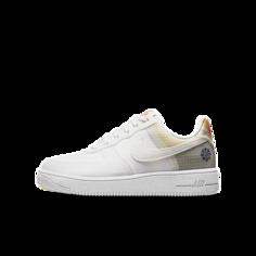 Кроссовки для школьников Nike Air Force 1 Crater - Белый
