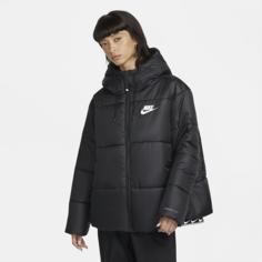 Женская куртка Nike Sportswear Therma-FIT Repel (большие размеры) - Черный