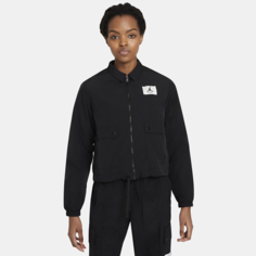 Женская куртка из тканого материала Jordan Essentials - Черный Nike