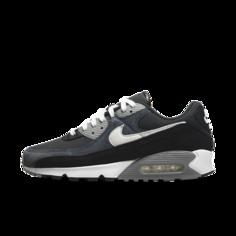 Мужские кроссовки Nike Air Max 90 Premium - Черный