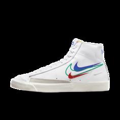 Мужские кроссовки Nike Blazer Mid 77 - Белый