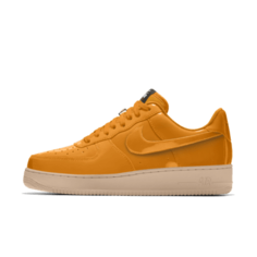 Мужские кроссовки с индивидуальным дизайном Nike Air Force 1 Low Unlocked - Оранжевый