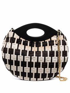 la milanesa сумка-тоут с геометричными вставками