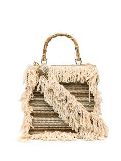 la milanesa сумка-тоут с бахромой