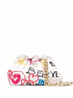 Pinko сумка на плечо с принтом граффити