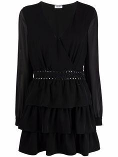 LIU JO платье мини с заклепками