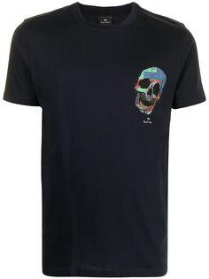PS Paul Smith футболка с принтом Skull
