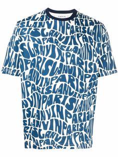 LANVIN футболка с логотипом