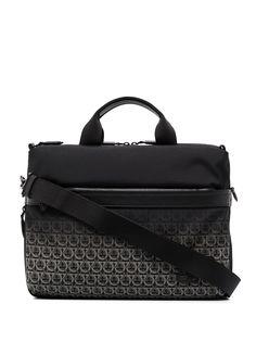 Salvatore Ferragamo сумка для ноутбука с монограммой