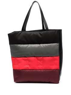 Marni сумка-тоут с тисненым логотипом