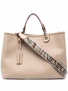 Emporio Armani сумка-тоут с логотипом