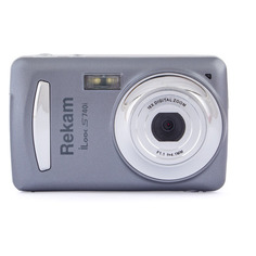 Цифровой фотоаппарат Rekam iLook S740i, темно-серый