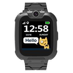 """Смарт-часы Canyon Tony KW-31, 1.54"""", черный / черный [cne-kw31bb]"""