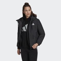 Утепленная куртка с капюшоном Back to Sport adidas Performance