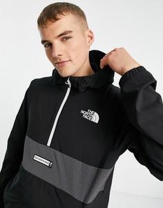 Черная куртка The North Face Mountain Athletic Wind-Черный цвет