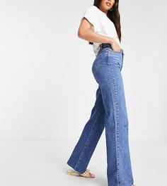 Синие джинсы в стиле 90-х Stradivarius Tall-Голубой