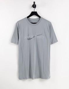 Серая футболка с графическим принтом Nike Pro Training-Серый